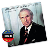 The Art Of Hans Hotter by Hans Hotter