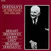 Dohnanyi At The Piano (1955, 1956, 1959) by Erno Dohnanyi