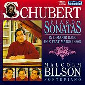 Schubert: Piano Sonatas Nos. 7 and 17 by Malcolm Bilson
