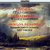 Dvorak: Cello Concerto / Tchaikovsky: Variations On A Rococo Theme, Op. 33 by Miklos Perenyi
