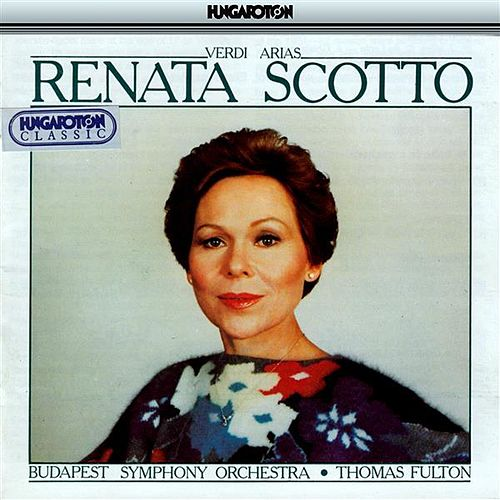 Scotto, Renata: Verdi Arias by Renata Scotto