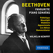 Beethoven: Favourite Piano Sonatas by Wilhelm Kempff