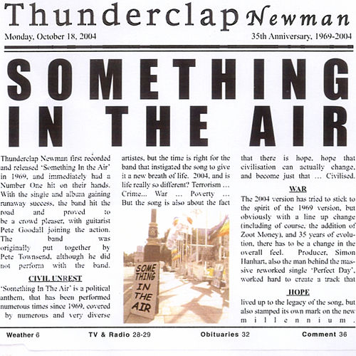 Something In The Air by Thunderclap Newman