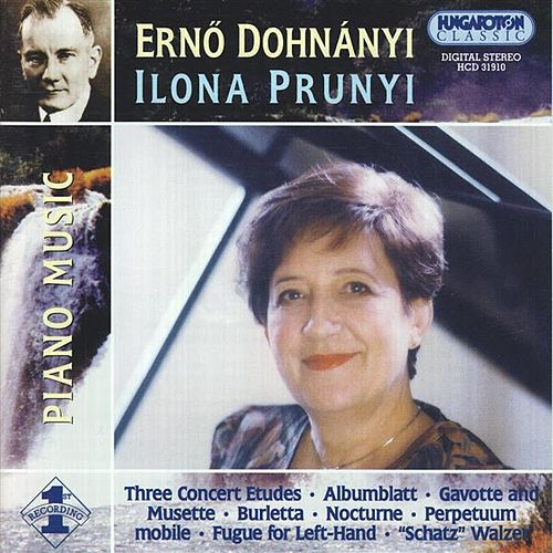Dohnanyi: Piano Music by Ilona Prunyi