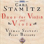 Stamitz, C.: Duos for Violin and Viola, Vol. 1 by Vilmos Szabadi