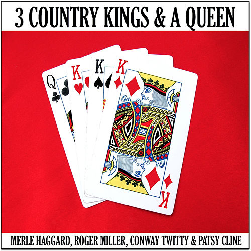 3 Country Kings & A Queen by Various Artists