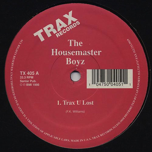 Thank You for the Trax You Lost by Farley Jackmaster Funk