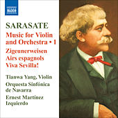 Sarasate: Violin and Orchestra Music, Vol. 1 by Tianwa Yang