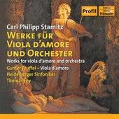 Stamitz: Viola D'Amore Concertos / Viola D'Amore Sonata in E-Flat Major by Gunter Teuffel