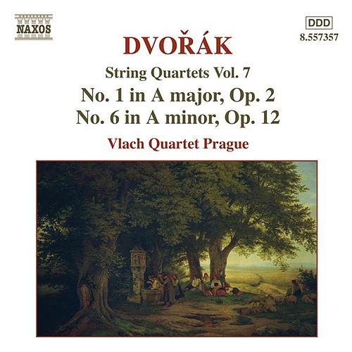 Dvorak, A.: String Quartets, Vol. 7 (Vlach Quartet) - Nos. 1, 6 by Vlach Quartet Prague