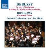 Debussy, C.: La Mer / Nocturnes / Hosokawa, T.: Circulating Ocean by Lyon National Orchestra