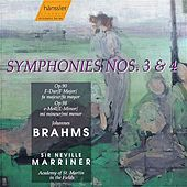 Brahms: Symphonies Nos. 3 and 4 by Academy of St. Martin in the Fields Orchestra