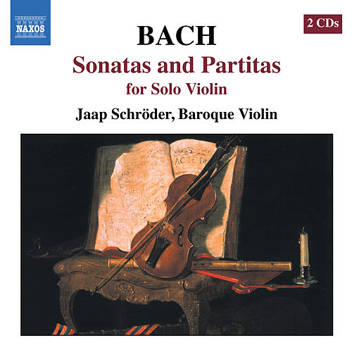 Bach, J.S.: Sonatas and Partitas for Solo Violin, Bwv 1001-1006 by Jaap Schröder