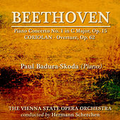 Beethoven: Piano Concerto No. 1 by Paul Badura-Skoda
