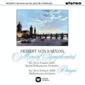 Mozart: Symphonies Nos 29 & 38 by Herbert Von Karajan
