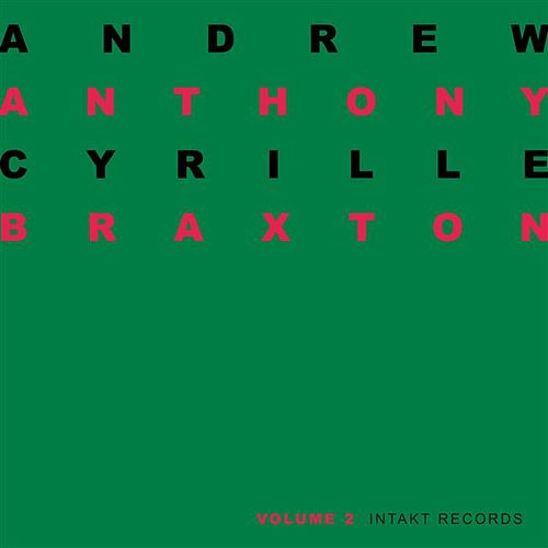 Duo Palindrome 2002, Vol. 2 by Anthony Braxton