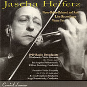Jascha Heifetz in Never-Before-Released  and Rare Live Recordings, Vol. 2 by Jascha Heifetz