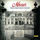 Mozart Twelve Great Piano Concerti by Various Artists