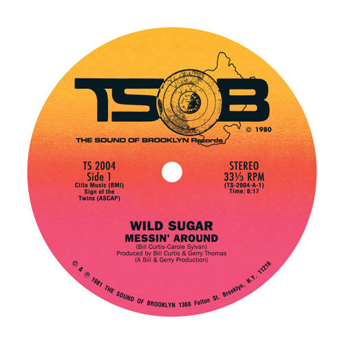 Messin' Around / Bring It Here (12') by Wild Sugar