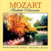 Mozart - Berühmte Violinsonaten by Erich Appel