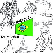 100% Brazil Coffee Lounge 2014 (Bonita Brasilia Chill Out Football Edition Mundial) by Various Artists