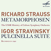 R. Strauss: Metamorphosen - Stravinsky: Pulcinella Suite by USSR Ministry of Culture Symphony Orchestra