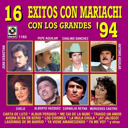 16 Exitos Con Mariachi Con Los Grandes by Various Artists
