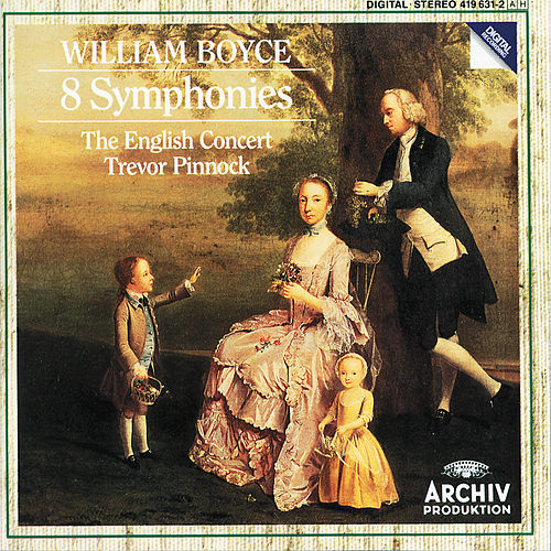 William Boyce: 8 Symphonies by The English Concert