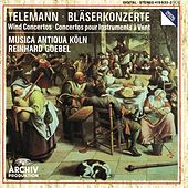 Telemann: Wind Concertos by Various Artists