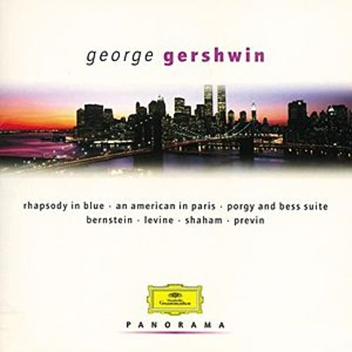 Gershwin - Set: Bernstein/Ozawa/Previn/Levine by Various Artists