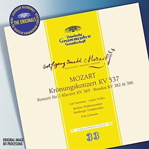 Mozart: Coronation concerto K537, Concerto for 2 Pianos K365, Rondos K382 & 386 by Carl Seemann