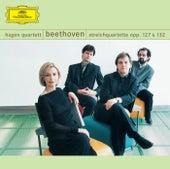 Beethoven: String Quartets, Opp. 127 & 132 by Hagen Quartett
