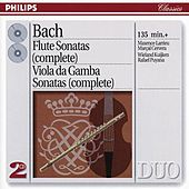 Bach, J.S.: The Flute Sonatas/The Viola da Gamba Sonatas by Various Artists