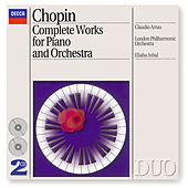Chopin: Piano Concertos Nos.1 & 2 etc by Frederic Chopin