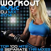 Workout Music 100 Hits DJ Mix 2014 8 Separate 1hr Mixes - High BPM Exercise Electronic Dance Techno Trance Progressive Gym Jams by Various Artists