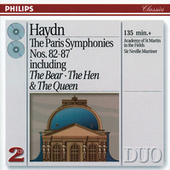 Haydn: The Paris Symphonies Nos. 82-87 by Academy of St. Martin in the Field