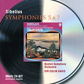 Sibelius: Symphonies Nos.5 & 7 by Boston Symphony Orchestra