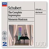 Schubert: The Complete Impromptus/Moments Musicaux by Alfred Brendel