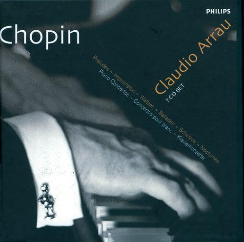 Chopin: Piano Music/Piano Concertos by Claudio Arrau