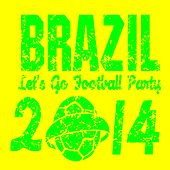 Brazil Let's Go Football Party (Copa Soccer Estádio Música) by Various Artists