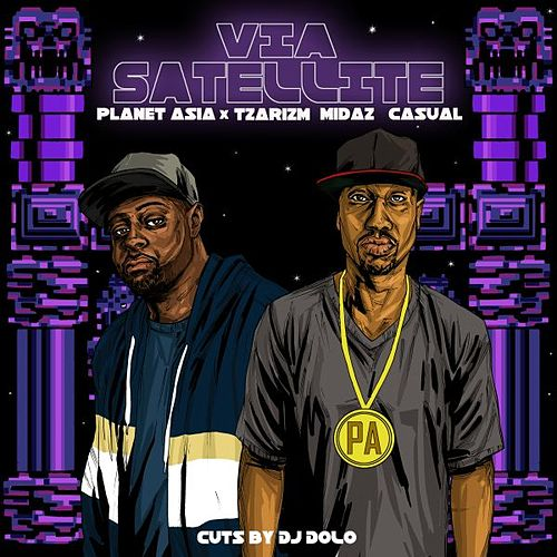 Via Satellite (feat. MidaZ the BEAST & Casual) by Planet Asia