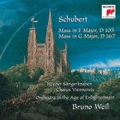 Schubert: Mass in F Major, D 105; Mass in G Major, D 167 by Bruno Weil
