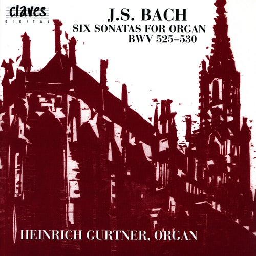 Johann Sebastian Bach: Six Sonatas For Organ, BWV 525-530 by Johann Sebastian Bach