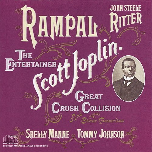 Jean-Pierre Rampal Plays Scott Joplin by Jean-Pierre Rampal