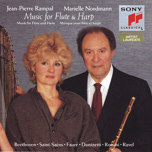 Flute and Harp Duets by Jean-Pierre Rampal; Marielle Nordmann