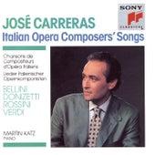Italian Operas Composers' Songs by José Carreras