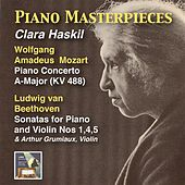Piano Masterpieces: Clara Haskil Plays Mozart & Beethoven by Various Artists