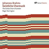 Brahms: Geistliche Chormusik by Various Artists