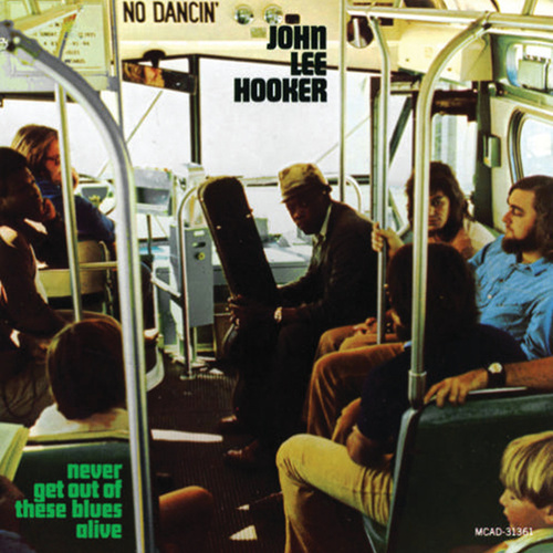 Never Get Out of the Blues Alive by John Lee Hooker