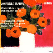 Johannes Brahms: The Four Quintets, Vol. 1 by Philippe Bianconi